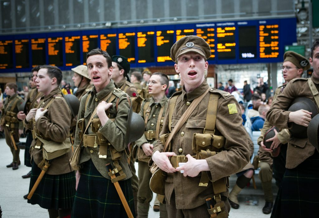 we're Here Because We're Here, Glasgow, 14-18- NOW, Eoin Carey, |Jeremy Deller