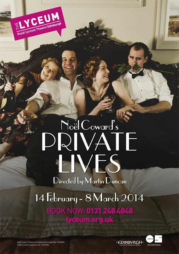 Private Lives - Royal Lyceum Theatre Edinburgh